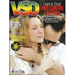 VSD n°2112 15 février 2018   Laura & David Hallyday/ Bernard Tapie/ Spécial voyage/ Jeunes migrants/ Jaguars/ Goût de l'Arménie