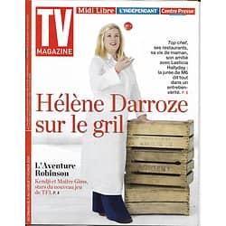 TV MAGAZINE n°22860 11/02/2018  Hélène Darroze/ Maître Gims & Kendji/ Stéphane Bern/ VDB