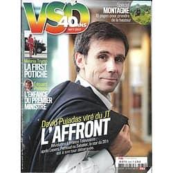 VSD n°2074 24/05/2017  David Pujadas/ Melania Trump/ Edouard Philippe/ Spécial montagne/ Mossoul, la dernière bataille/ Prix du thriller