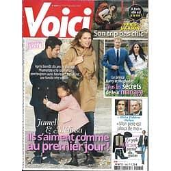 VOICI n°1569 01/12/2017  Theuriau & Debbouze/ Prince Harry & Meghan/ Alain-Fabien Delon/ Paris Jackson/ Kate Winslet