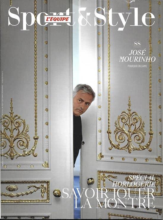 SPORT&STYLE n°88 novembre 2017  José Mourinho/ Spécial Horlogerie/ Moto custom/ Haut-Jura/ En prise avec le temps