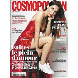 COSMOPOLITAN n°532 mars 2018  Megan Fox/ faites le plein d'amour, n° 100% love/ Izzy Bizu/ Brighton