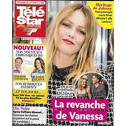 TELE STAR n°2160 24/02/2018  Vanessa Paradis/ Section de recherches/ Laura Smet & Laeticia Hallyday/ Bernier/ César