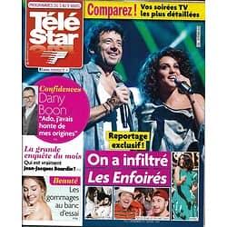 TELE STAR n°2161 03/03/2018  Les Enfoirés/ Dany Boon/ Depardieu/ Bourdin/ Laetitia Casta/ Audrey Fleurot/ Sidney Poitier