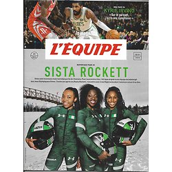 L'EQUIPE MAGAZINE n°1853 20/01/2018   Sista Nigeria Rockett/ Kyrie Irving/ Toni Nadal/ Guide de haute montagne
