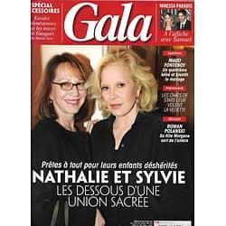 GALA n°1292 14/03/2018  Nathalie Baye & Sylvie Vartan/ Vanessa Paradis/ Morgane Polanski/ Maud Fontenoy/ Mode: escales en Polynésie