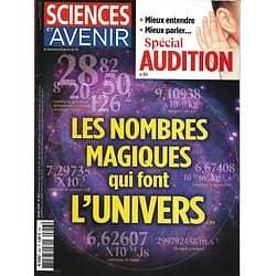 SCIENCES ET AVENIR n°853 mars 2018  Nombres magiques/ Audition/ Civilisation de l'Indus/ Pollution vallée de l'Arve/ Bon sommeil