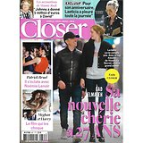 CLOSER n°667 23/03/2018  Gad Elmaleh/ Laeticia Hallyday/ Succession de Johnny/ Bruel & Lenoir/ Céline Dion