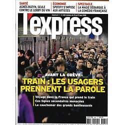 L'EXPRESS n°3481 21/03/2018  Usagers & grèves SNCF/ Spotify/ Buzyn vs lobby vin/ Tourisme spatial/ La magie
