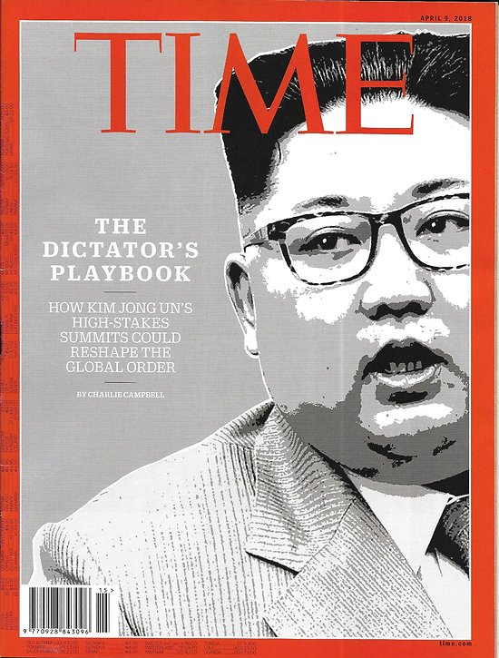 TIME VOL.191 n°13 09/04/2018  High-stakes summit with North Korea/ Jeff sessions/ Depression on campus/ Steven Spielberg