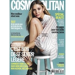 COSMOPOLITAN n°535 juin 2018  Elizabeth Olsen/ Faire le tri/ Spécial beauté/ Palerme/ Spécial maillots/ Leprévost