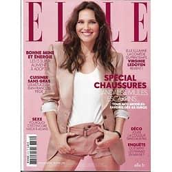 ELLE n°3774 20/04/2018  Virginie Ledoyen/ Spécial Chaussures/ Gemma Arterton/ Femmes mai 68/ Sexe à 40 ans/ Jake Gyllenhaal/ Déco rainbow
