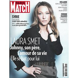 PARIS MATCH n°3597 19/04/2018  Laura Smet/ Macron chef des armées/ Hollande/ Universités/ Cannabis/ Rockefeller