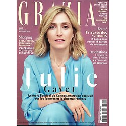 GRAZIA n°445 04/05/2018  Julie Gayet/ HandMaid's Tale/ Social Lab cartier/ Influenceuses/ Spécial parfums/ Penelope Cruz