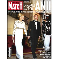 PARIS MATCH n°3599 09/05/2018  Macron an II/ Apprentissage/ GPA/ Grand Bleu/ Cate Blanchett/ Ouvéa