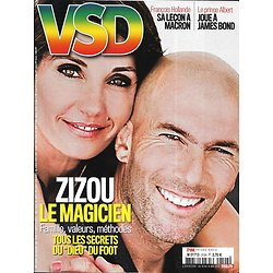 VSD n°2124 10/05/2018  Zidane le magicien/ Hollande: sa leçon à Macron/ Mai 68/ Experts IRCGN/ Glamour Meghan Markle/ Spécial plein air