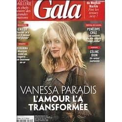 GALA n°1300 09/05/2018  Vanessa Paradis/ Rihanna/ Meghan Markle/ Elle Fanning/ Spécial joaillerie