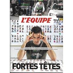 L'EQUIPE MAGAZINE n°1876 30/06/2018   Fortes têtes/ Cavendish/ Chris Evert/ Tsitsipas/ Italie, hors mondial