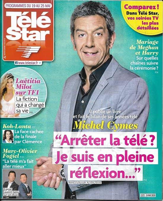 TELE STAR n°2172 19/05/2018  Michel Cymes/ Meghan&Harry/ laëtitia Milot/ Iris Mittenaere/ Rizzoli&Isles