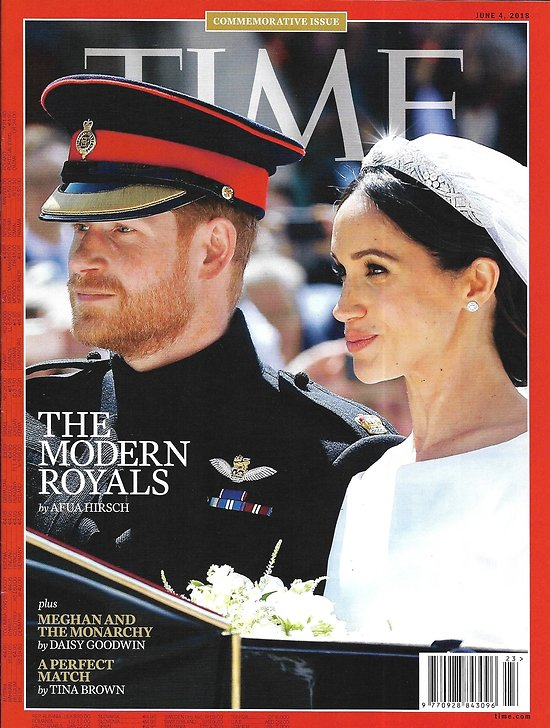 TIME VOL.191 n°21 04/06/2018   Commemorative issue: Harry&Meghan: the Modern Royals