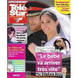 """TELE STAR n°2174 02/06/2018  Harry&Meghan/ Laëtitia Milot/ Etchebest/ """"Demain nous appartient""""/ Vanessa Paradis/ Natalie Portman"""