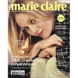 MARIE CLAIRE n°790 juin 2018  Vanessa Paradis/ Sexe: ce que veulent les femmes/ Reprofiler son corps/ Victoire de Castellane