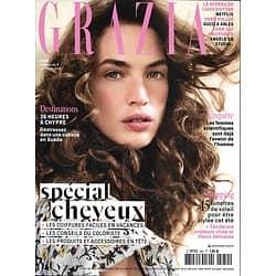 GRAZIA n°450 08/06/2018  Spécial cheveux/ Angèle/ Femmes scientifiques/ Nishimura/ Cabane en Suède/ Mode été