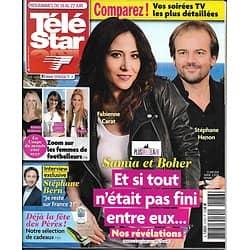 TELE STAR n°2176 16/06/2018  Plus belle la vie/ Stéphane Bern/ Garou & Thilleman/ Femmes de footballeurs/ Sandra Bullock/ M.Weatherly