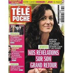 TELE POCHE n°2731 16/06/2018  Jenifer/ Stéphane Bern/ Sandrine Diouf/ Garou & Laury Thilleman