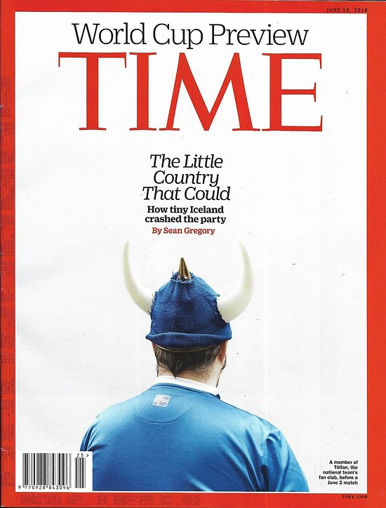 TIME VOL.191 n°23 18/06/2018   Iceland/ World Cup preview/ War on Mueller/ Male birth control