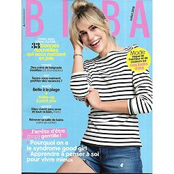 BIBA (Pocket) n°461 juillet 2018  Syndrome de la good girl/ Audrey Lamy/ Belle à la plage/ Looks d'été/ Baignades insolites