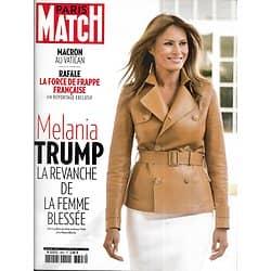 PARIS MATCH n°3607 28/06/2018  Melania Trump/ Macron au Vatican/ Rafale/ Migrants/ Virgil Abloh/ famille Ricard