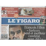 LE FIGARO n°20711 05/03/2011  Fillon/ Khadafi/ Cuba/ Renault/ Dior/ ISF/ Raphaël & Bénabar/ Architecture russe