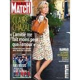 PARIS MATCH n°3609 12/07/2018  Claire Chazal/ Les Bleus/ Requins blancs à Hawaii/ Lanzmann/ Station F