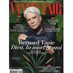 VANITY FAIR n°59 juillet 2018  Bernard tapie/ Top 30 des jeunes Français/ Kristeva, espionne?/ Grasset réhabilité?/ Mr. Oizo