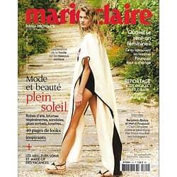 MARIE CLAIRE n°792 août 2018  Constance Jablonski/ Mode&beauté plein soleil/ L.A.: étudiants à la rue/ Biolay & Poupaud/ La honte sur les réseaux (copy)