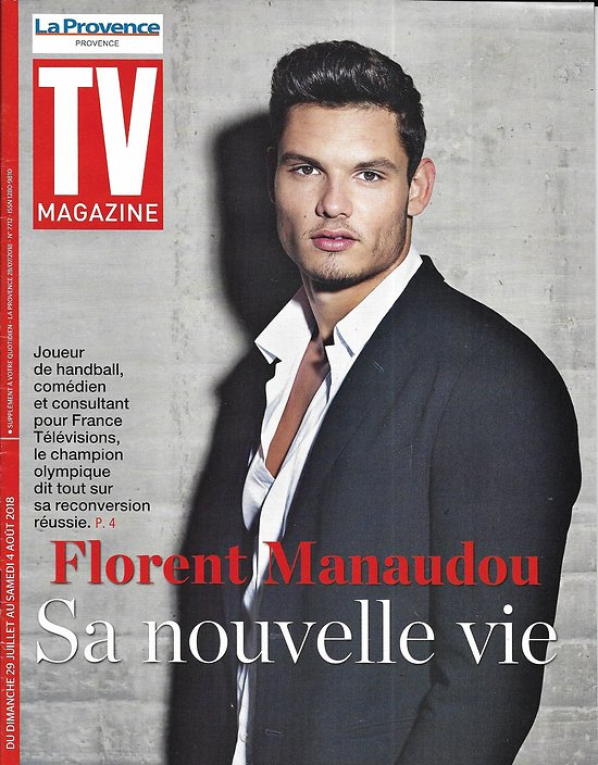 TV MAGAZINE 29/07/2018  Florent Manaudou/ Valérie Damidot/ Maltese