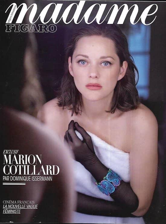 MADAME FIGARO n°22635 19/05/2017  Marion Cotillard/ Spécial Cannes/ Huppert & Pinault/ McInerney/ Art Athènes