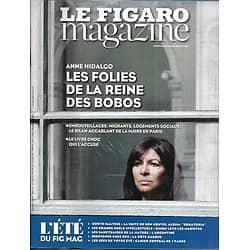 LE FIGARO MAGAZINE n°22718 25/08/2017  Hidalgo, reine des bobos/ Corto Maltese/ Argentine/ Côte basque
