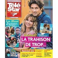 TELE STAR n°2183 04/08/2018  Demain nous appartient, Chauvin&Madinier/ les Bleus en vacances/ Tom Cruise/ Amy Adams