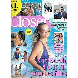 CLOSER n°686 03/08/2018  Laeticia Hallyday/ les Bleus en vacances/ Benalla/ Tony Parker/ Tom Cruise/ Macron