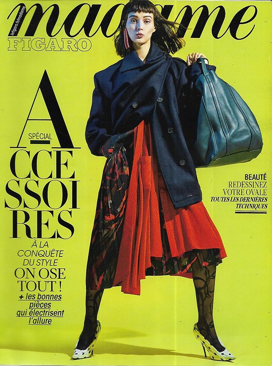 MADAME FIGARO n°22730 08/09/2017  Spécial accessoires/ Sibui/ Margaret Atwood/ Lily James/ Scott Thomas/ Mères-filles