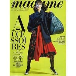 MADAME FIGARO n°22730 08/09/2017  Spécial accessoires/ Sibui/ Margaret Atwood/ Lily James/ Scott Thomas/ Mères-filles