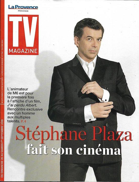 TV MAGAZINE 26/08/2018  Stéphane Plaza/Michel Drucker/ Freddie Highmore