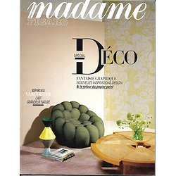 MADAME FIGARO n°22760 13/10/2017  Spécial déco/ Vancouver, green arty/ Daniel Arsham/ Polanski/ Fabrice Midal