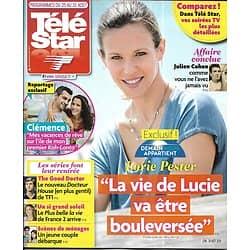 "TELE STAR n°2186 25/08/2018  Lorie ""Demain nous appartient""/ Freddie Highmore/ ""Un si grand soleil""/ Iris Mittenaere"