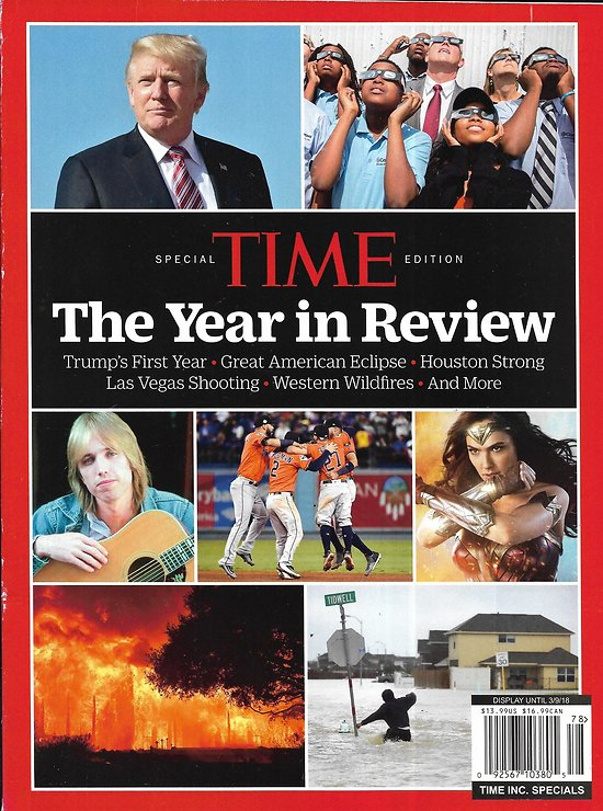 SPECIAL TIME EDITION   The Year in review: 2017: Trump first year/ Eclipse/ Hurricanes