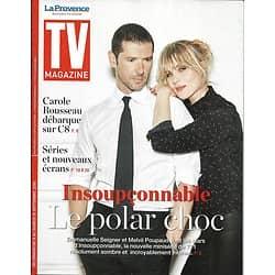 """TV MAGAZINE 09/09/2018  Melvil Poupaud & Emmanuelle Seigner """"Insoupçonnable"""""""