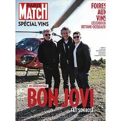 PARIS MATCH SUPPLEMENT n°3617 06/09/2018  Spécial vins: Bon Jovi fait son rosé/ Foire aux vins