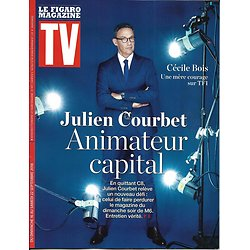 TV MAGAZINE 16/09/2018  Julien Courbet, animateur capital/ Cécile Bois, mère courage/ JB Boursier/ Jim Carrey